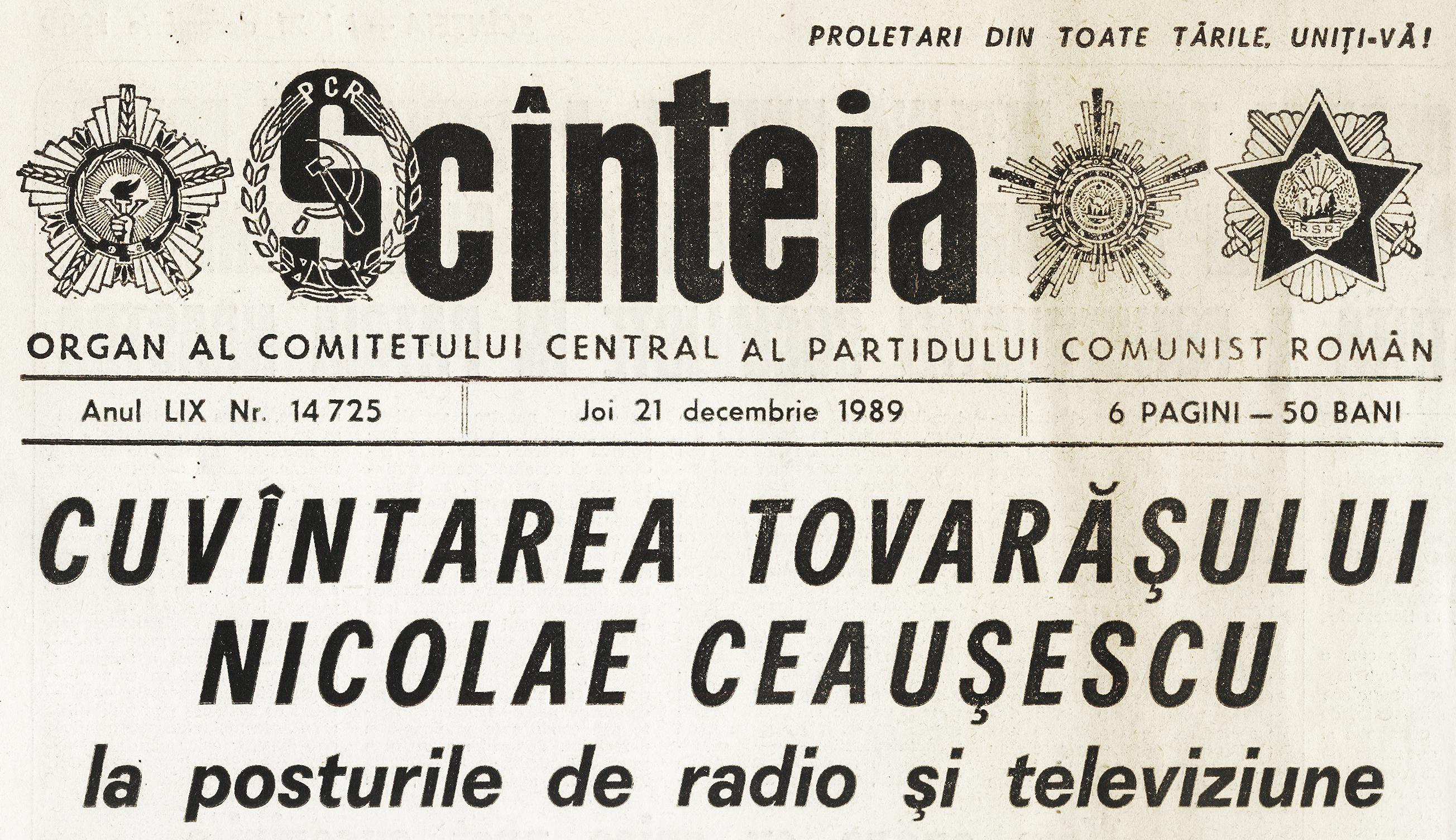 Scînteia_21_decembrie_1989-3