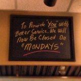 closedmondays